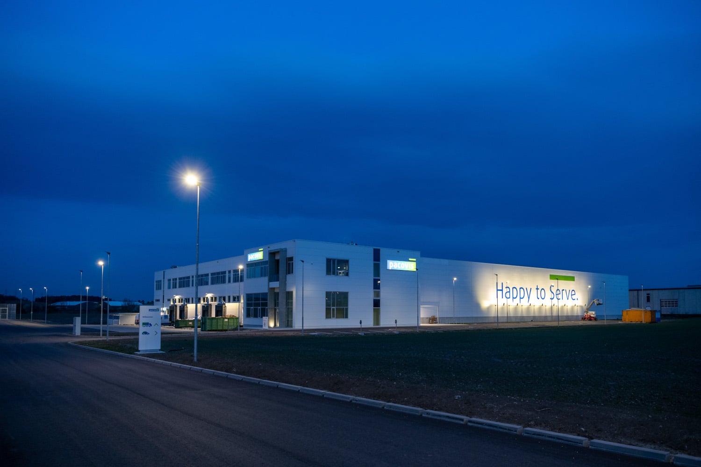 Logistikcenter Pacovis
